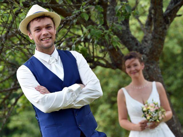 Le mariage de Adrien et Charline à Steige, Bas Rhin 8