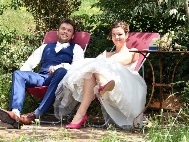 Le mariage de Adrien et Charline à Steige, Bas Rhin 16