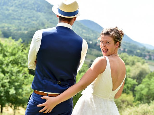 Le mariage de Adrien et Charline à Steige, Bas Rhin 17