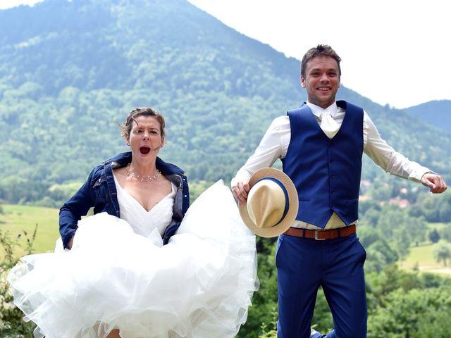 Le mariage de Adrien et Charline à Steige, Bas Rhin 21
