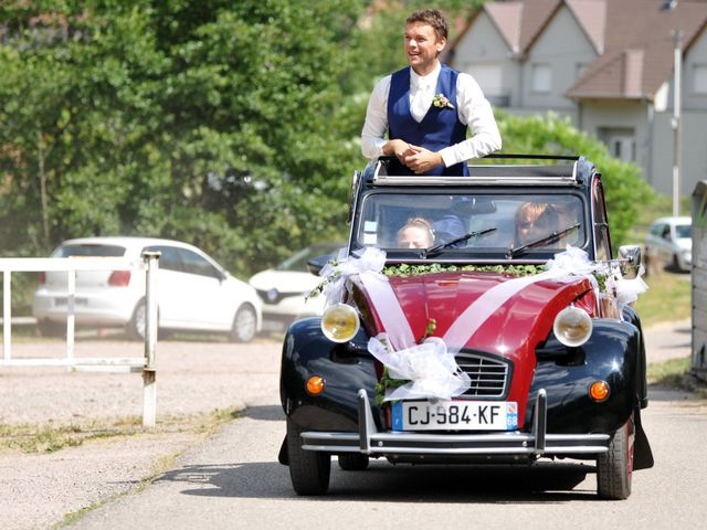 Le mariage de Adrien et Charline à Steige, Bas Rhin 28