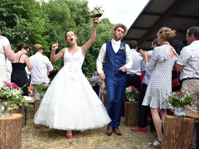 Le mariage de Adrien et Charline à Steige, Bas Rhin 44