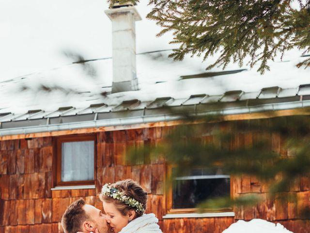Le mariage de Cédric et Aurélie à Arêches, Savoie 1