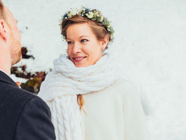 Le mariage de Cédric et Aurélie à Arêches, Savoie 15