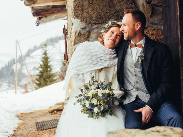 Le mariage de Cédric et Aurélie à Arêches, Savoie 2