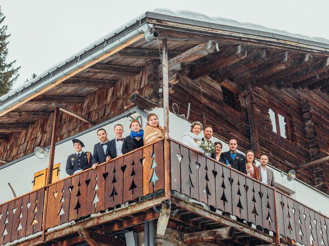 Le mariage de Cédric et Aurélie à Arêches, Savoie 17