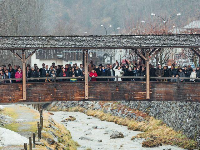 Le mariage de Cédric et Aurélie à Arêches, Savoie 20