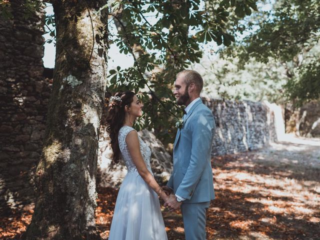 Le mariage de Brett et Amaury à Guérande, Loire Atlantique 25