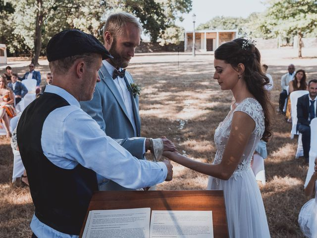 Le mariage de Brett et Amaury à Guérande, Loire Atlantique 40