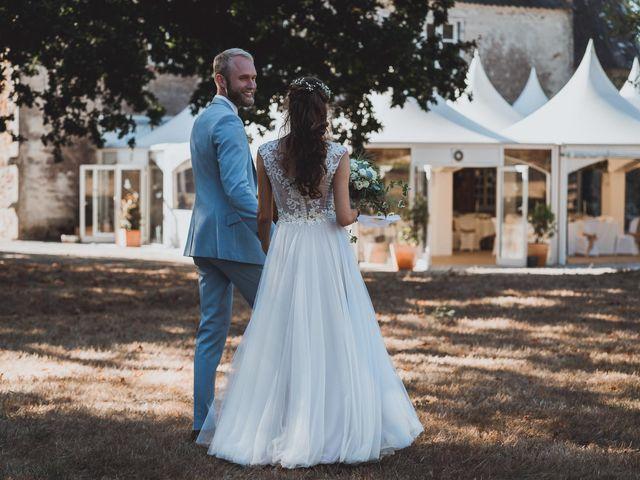 Le mariage de Brett et Amaury à Guérande, Loire Atlantique 44
