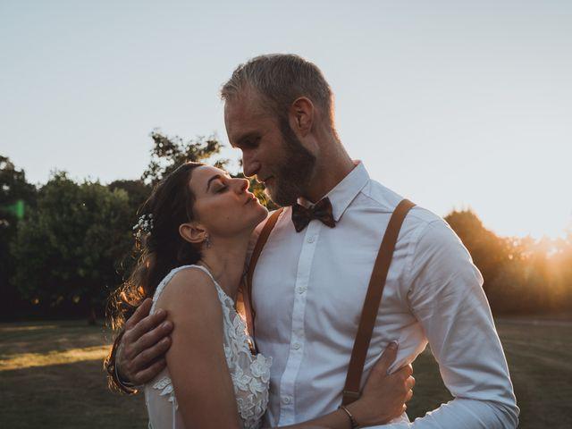 Le mariage de Brett et Amaury à Guérande, Loire Atlantique 63