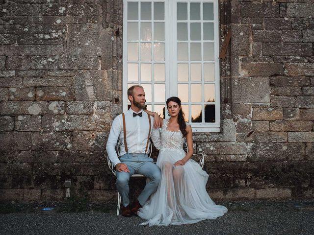 Le mariage de Brett et Amaury à Guérande, Loire Atlantique 69
