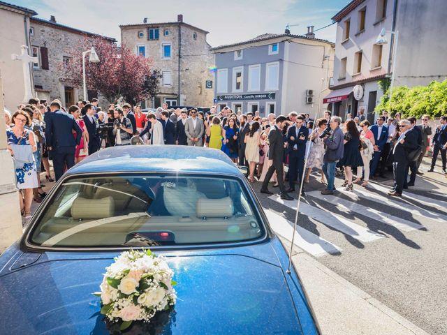 Le mariage de Julien et Joudy à Lamastre, Ardèche 25