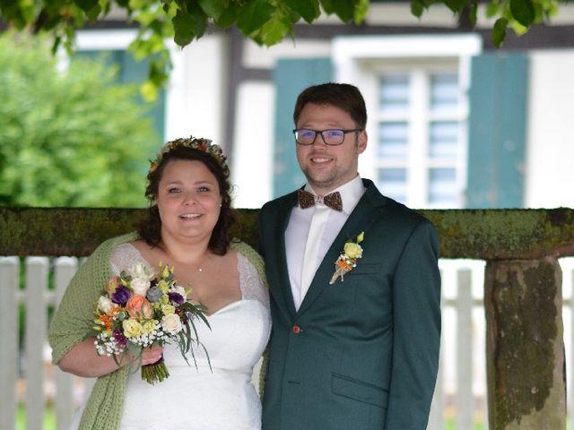 Le mariage de Florian et Perrine à Soufflenheim, Bas Rhin 9