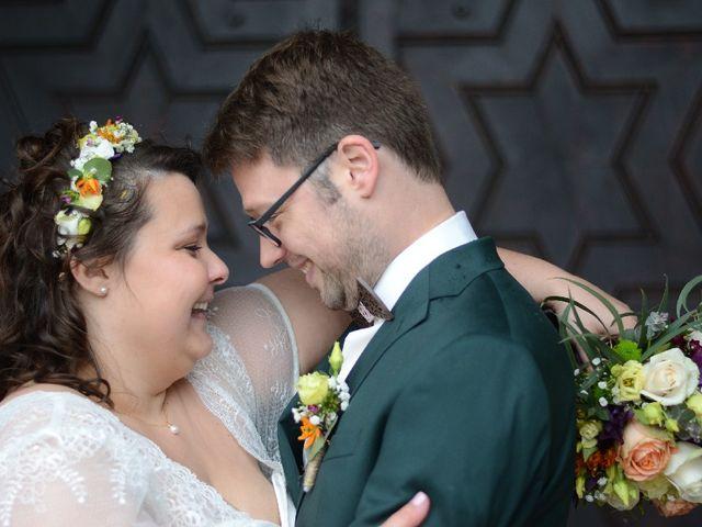 Le mariage de Florian et Perrine à Soufflenheim, Bas Rhin 10