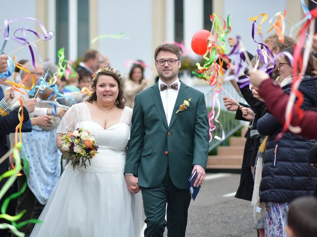Le mariage de Florian et Perrine à Soufflenheim, Bas Rhin 11