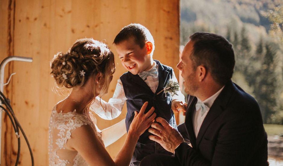 Le mariage de Thomas et Pauline à Saint-Amarin, Haut Rhin
