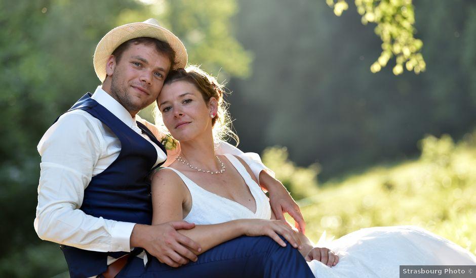Le mariage de Adrien et Charline à Steige, Bas Rhin