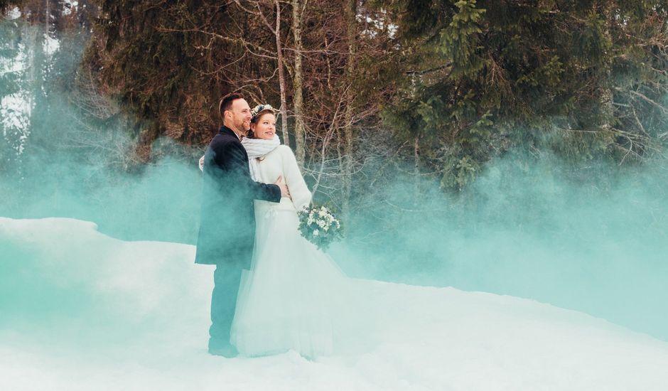 Le mariage de Cédric et Aurélie à Arêches, Savoie