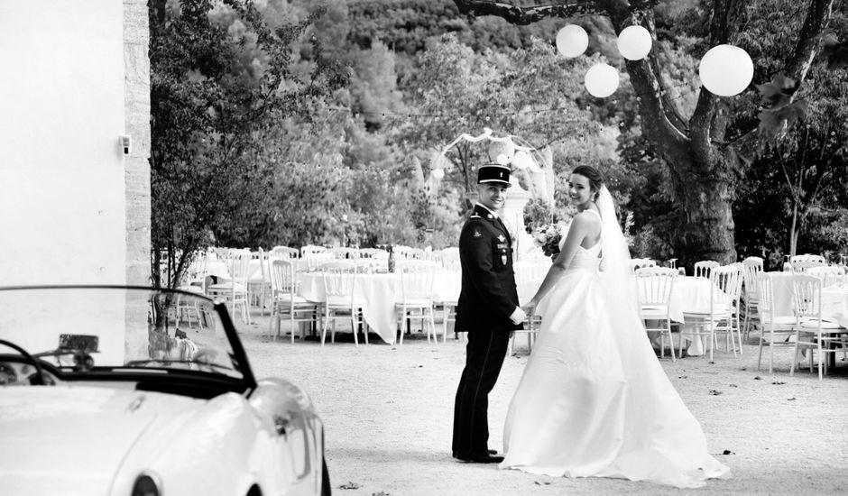 Le mariage de Thibaud et Constance à Vernègues, Bouches-du-Rhône