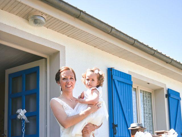 Le mariage de Cédric et Jessica à Gesnes-le-Gandelin, Sarthe 11