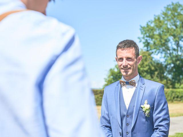 Le mariage de Cédric et Jessica à Gesnes-le-Gandelin, Sarthe 12