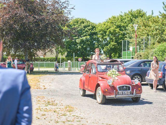 Le mariage de Cédric et Jessica à Gesnes-le-Gandelin, Sarthe 13