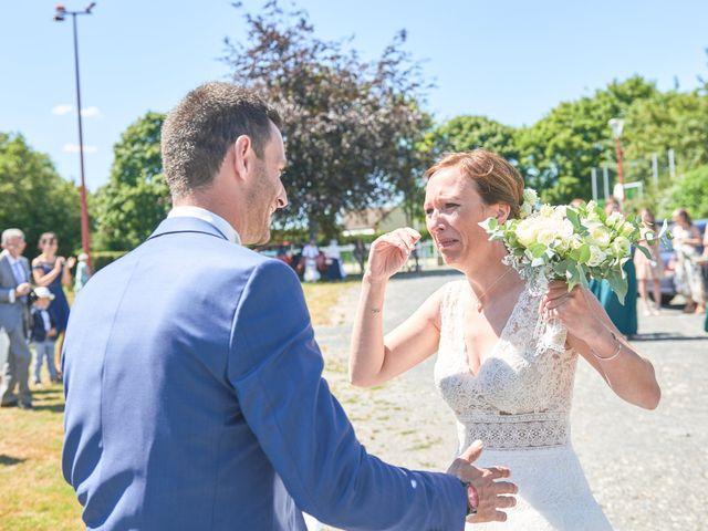 Le mariage de Cédric et Jessica à Gesnes-le-Gandelin, Sarthe 14