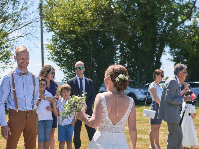Le mariage de Cédric et Jessica à Gesnes-le-Gandelin, Sarthe 15