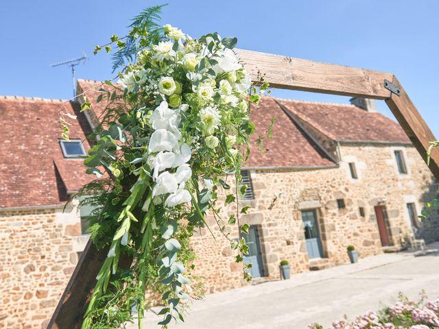 Le mariage de Cédric et Jessica à Gesnes-le-Gandelin, Sarthe 33