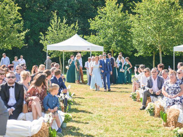 Le mariage de Cédric et Jessica à Gesnes-le-Gandelin, Sarthe 34