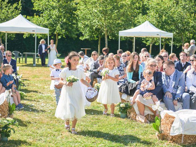 Le mariage de Cédric et Jessica à Gesnes-le-Gandelin, Sarthe 35