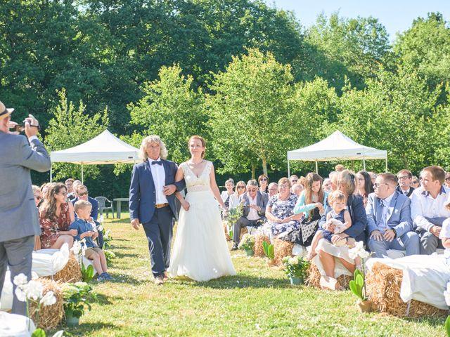 Le mariage de Cédric et Jessica à Gesnes-le-Gandelin, Sarthe 36