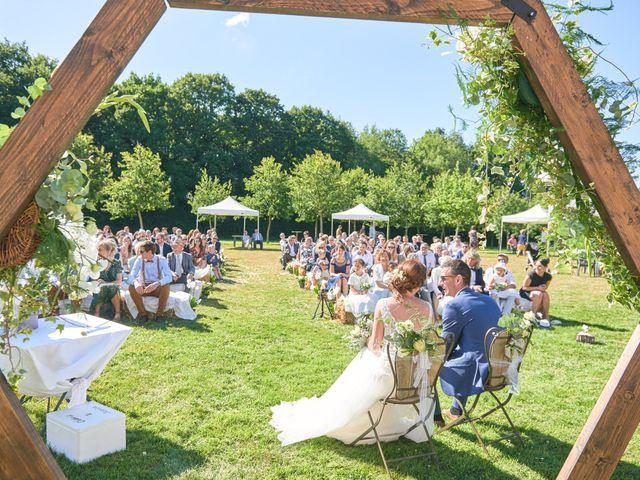 Le mariage de Cédric et Jessica à Gesnes-le-Gandelin, Sarthe 37