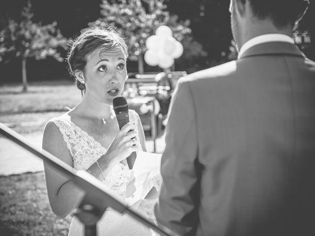 Le mariage de Cédric et Jessica à Gesnes-le-Gandelin, Sarthe 44