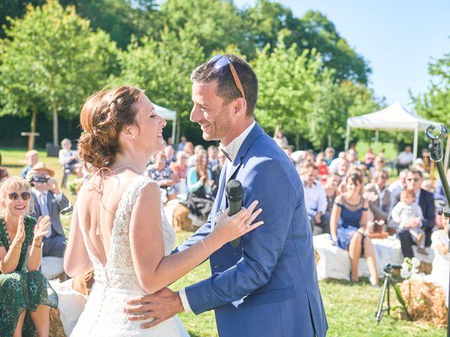 Le mariage de Cédric et Jessica à Gesnes-le-Gandelin, Sarthe 45