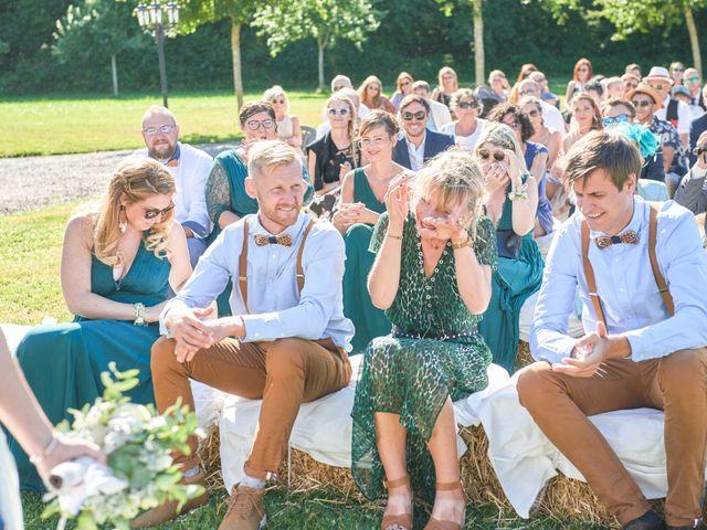 Le mariage de Cédric et Jessica à Gesnes-le-Gandelin, Sarthe 48