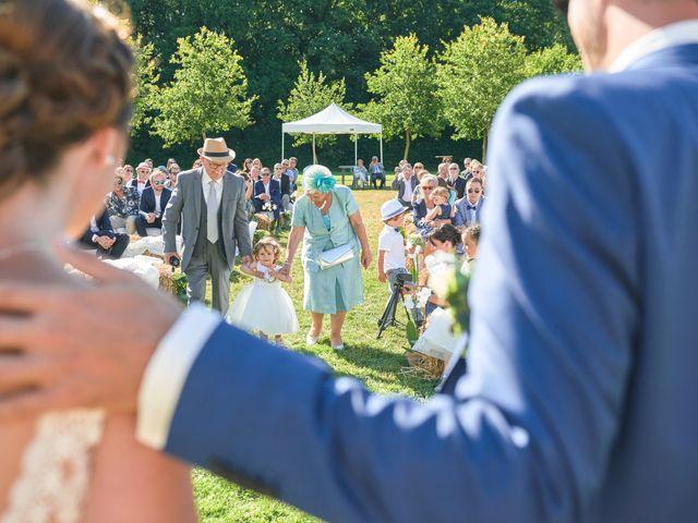 Le mariage de Cédric et Jessica à Gesnes-le-Gandelin, Sarthe 49