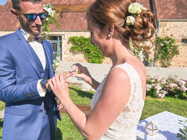Le mariage de Cédric et Jessica à Gesnes-le-Gandelin, Sarthe 50