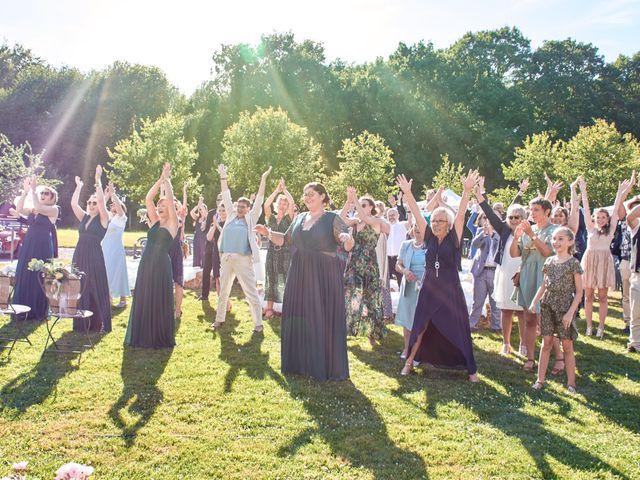 Le mariage de Cédric et Jessica à Gesnes-le-Gandelin, Sarthe 69