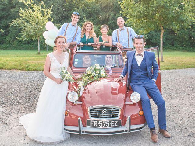 Le mariage de Cédric et Jessica à Gesnes-le-Gandelin, Sarthe 74