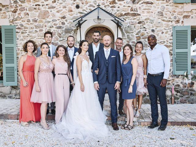 Le mariage de Romain et Audrey à Les Arcs, Var 74