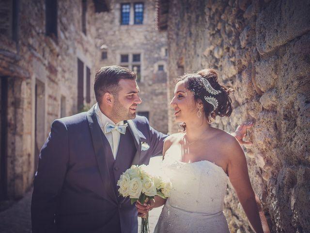 Le mariage de Typhanie et David