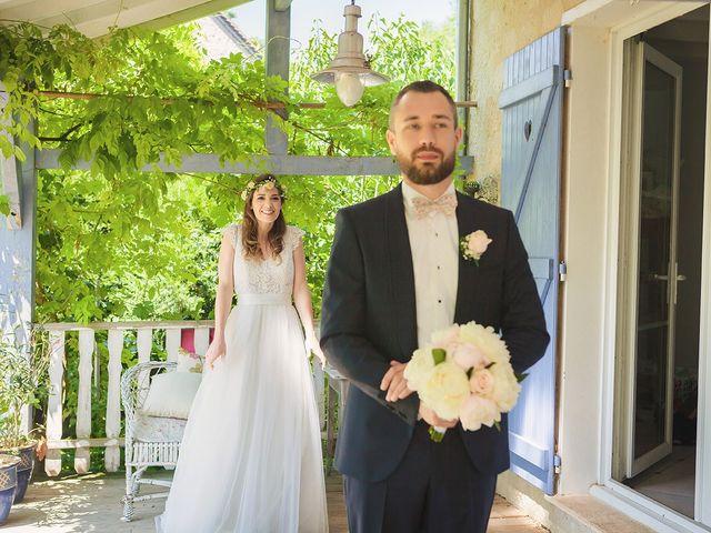 Le mariage de Julien et Victorine à Cergy-Pontoise, Val-d'Oise 14
