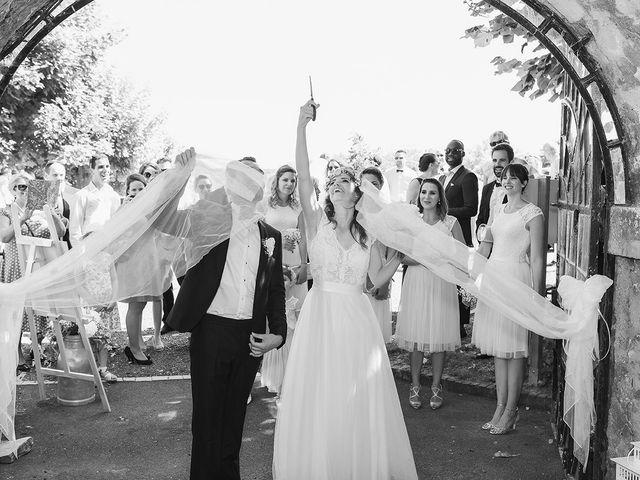 Le mariage de Julien et Victorine à Cergy-Pontoise, Val-d'Oise 23