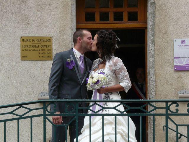 Le mariage de Jean Alain et Aurore à Saint-Priest-Bramefant, Puy-de-Dôme 1