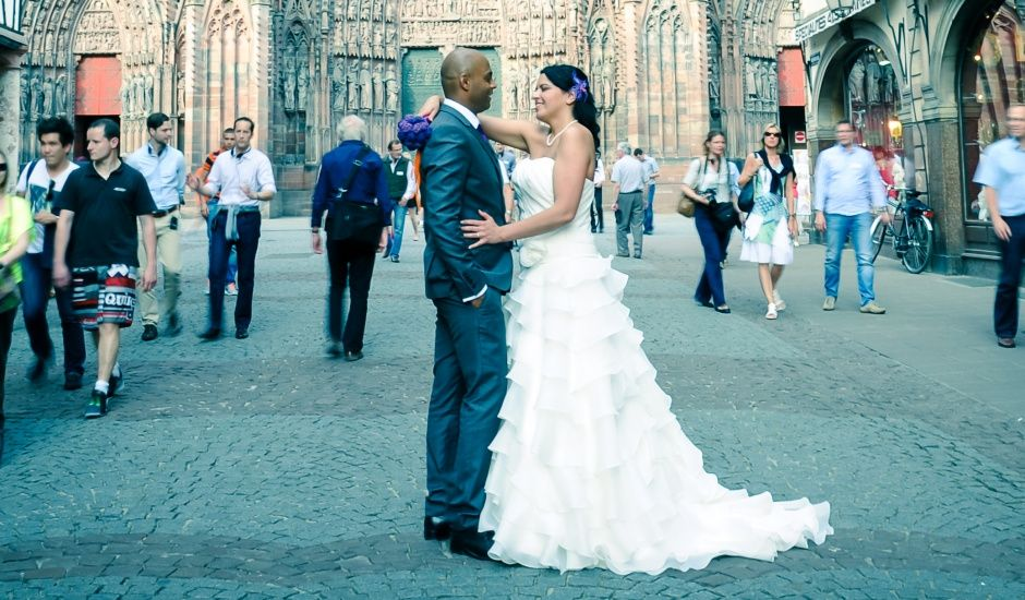 Le mariage de Sofia et Travis à Ostwald, Bas Rhin