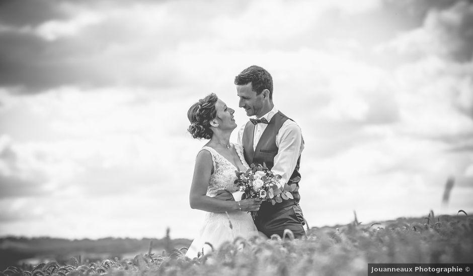 Le mariage de Cédric et Jessica à Gesnes-le-Gandelin, Sarthe