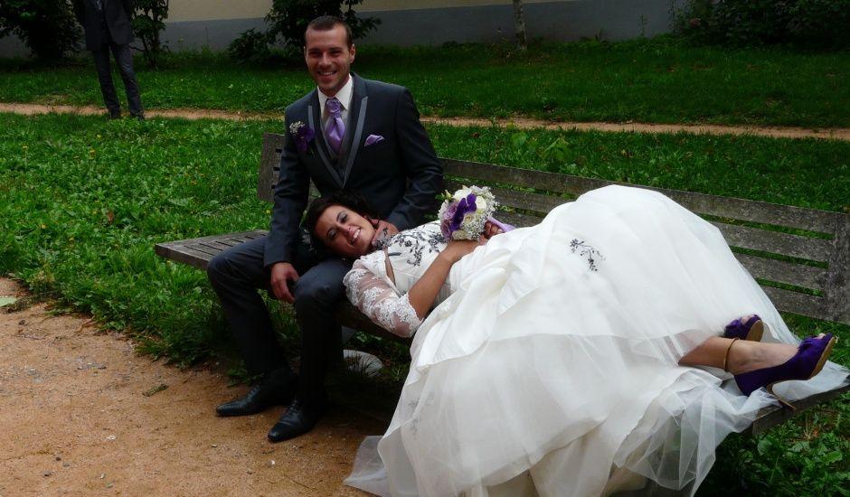 Le mariage de Jean Alain et Aurore à Saint-Priest-Bramefant, Puy-de-Dôme