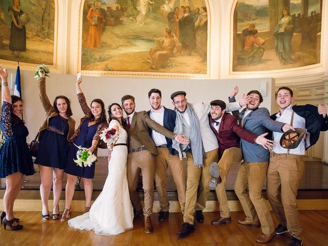 Le mariage de Thomas et Clémence à Tours, Indre-et-Loire 22